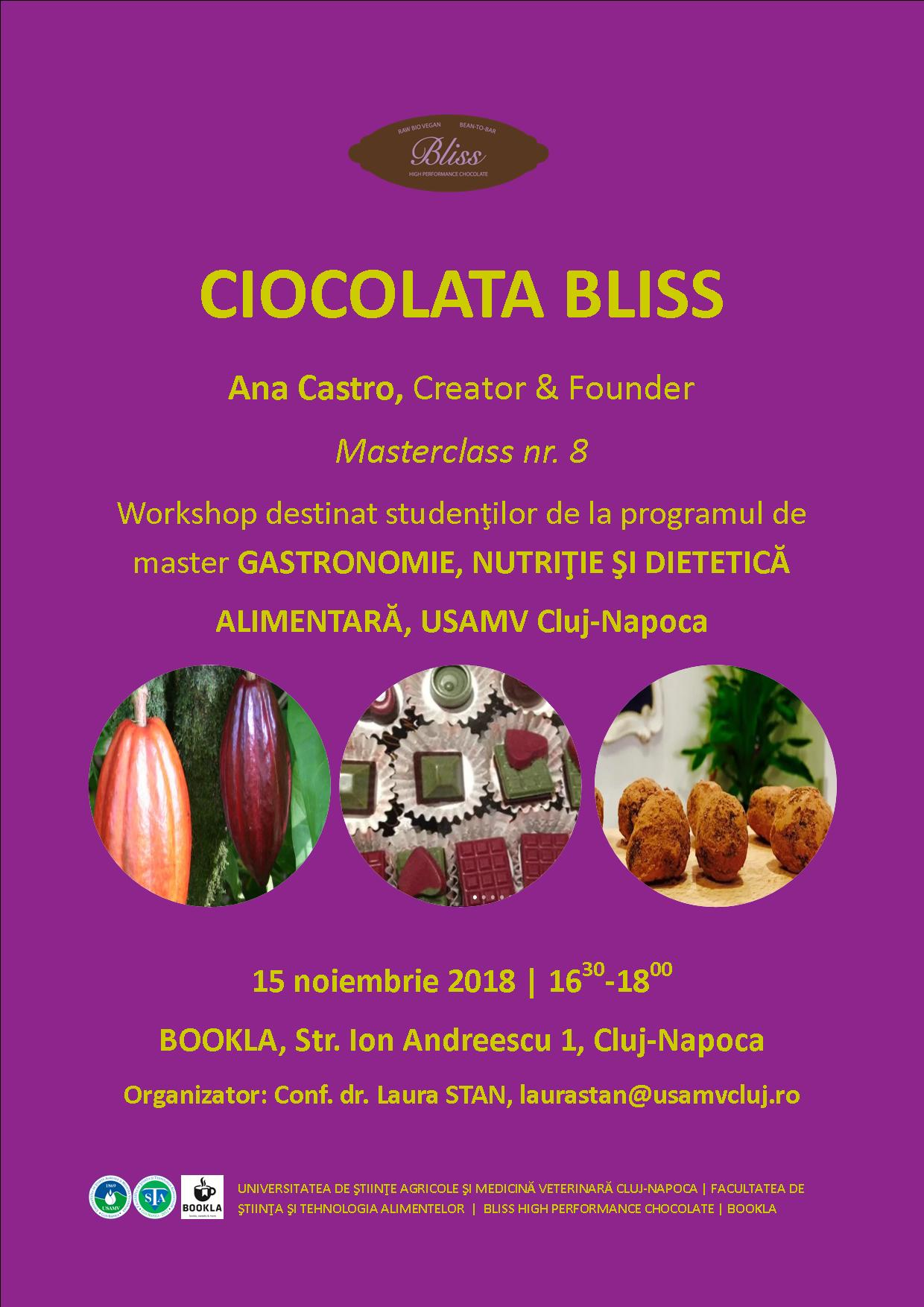 Workshop Ciocolata Bliss