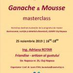 workshop ganache mousse