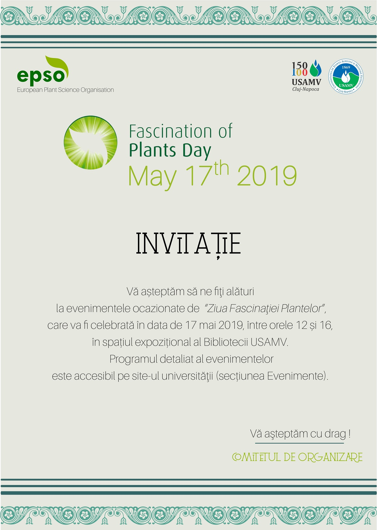 Ziua Fascinația Plantelor 2019